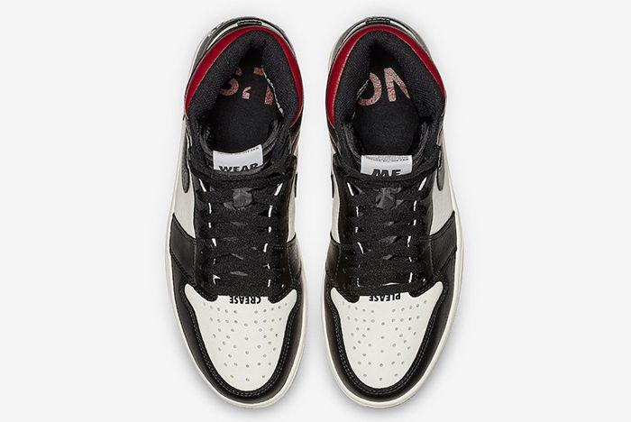 Air Jordan 1 Retro High Og No Ls Varsity Red 3
