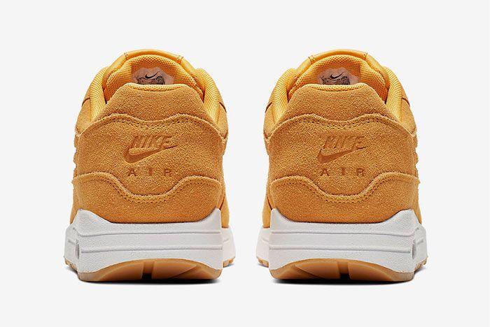 Nike Air Max 1 Premium 454746 702 Release Date 5 Heel