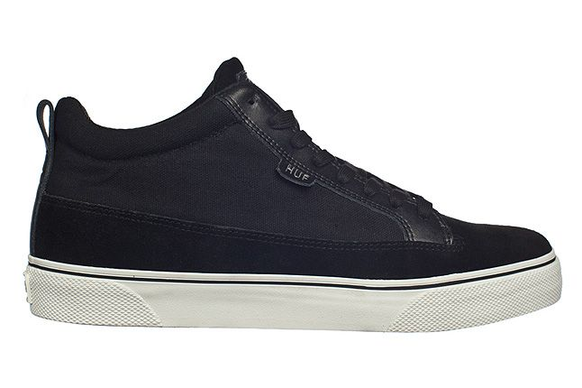 Huf Fall 2012 Footwear Clarence Blk Cream 1