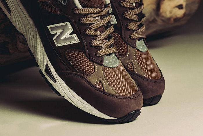 New Balance 991 England Brown Tan 3