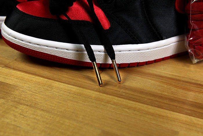 Air Jordan 1 Satin Bred 9