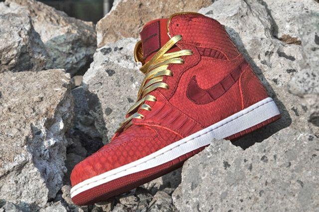 Air Jordan 1 Red Python 1