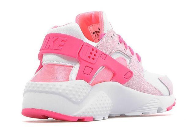Nike Air Huarache Gs White Pink Pow 05