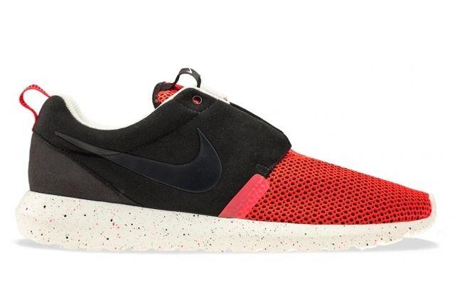 Nike Roshe Run Natural Motion Black Red