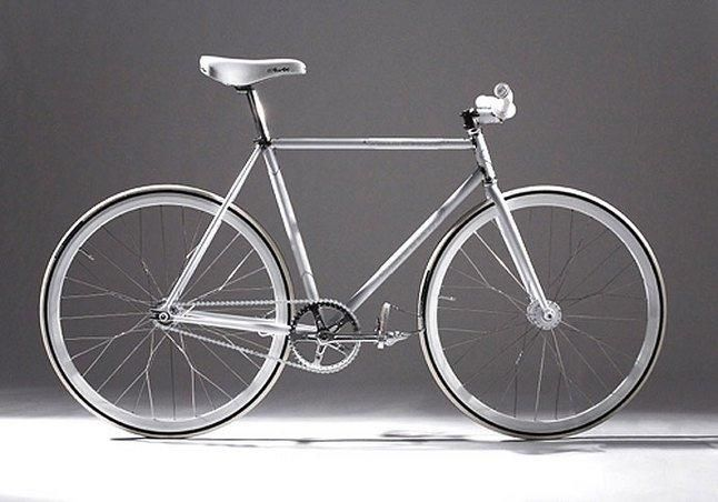 Nike Af1 Silver Service Fixie 1