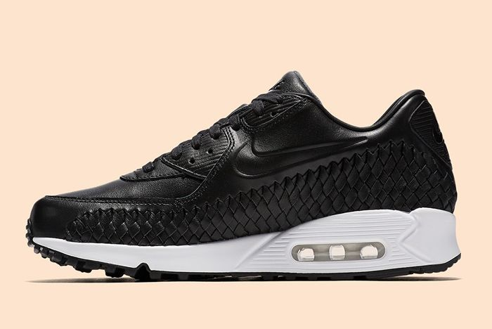 Nike Air Max 90 Woven Black White 3
