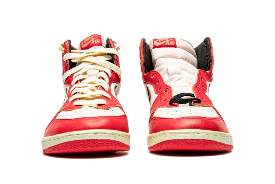 Air Jordan 1 TYPS MJ Signed Player Exclusive Toe