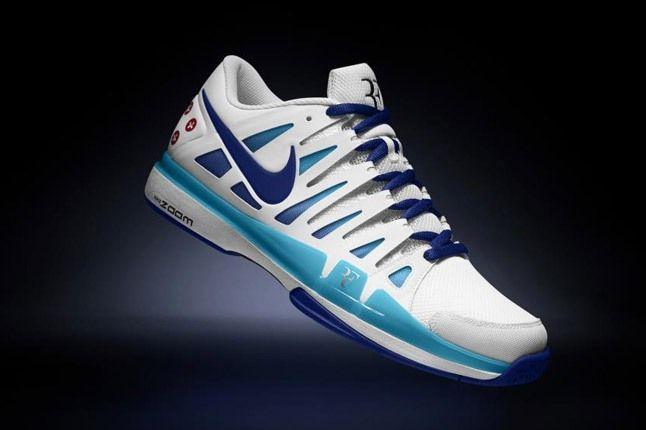Nikeid Roger Federer Vote Zoom Vapor 9 Dark Blue 1