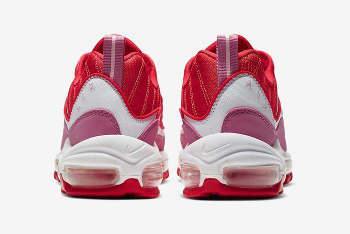 Nike Air Max 98 Pink Red Heels