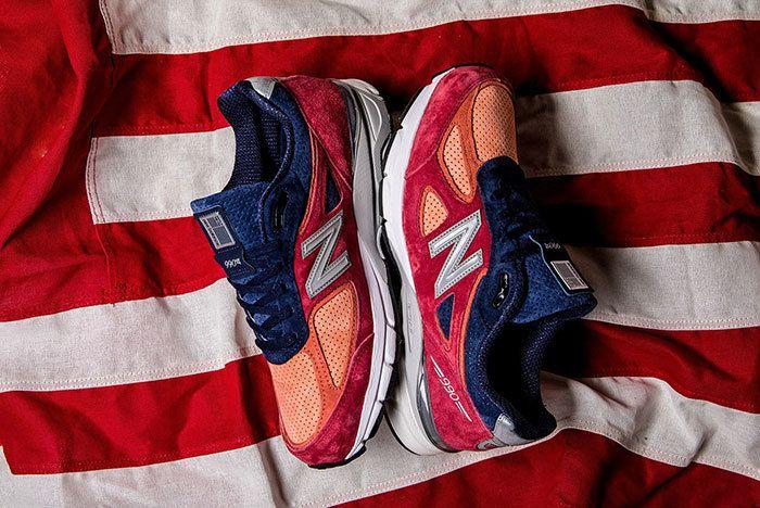 New Balance 990 V4 Copper Rose Pigment 1 Sneaker Freaker