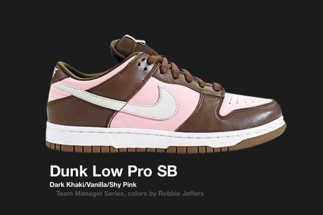 Nike Dunk Low Team Manager Series Robbie Jeffers 2005 1