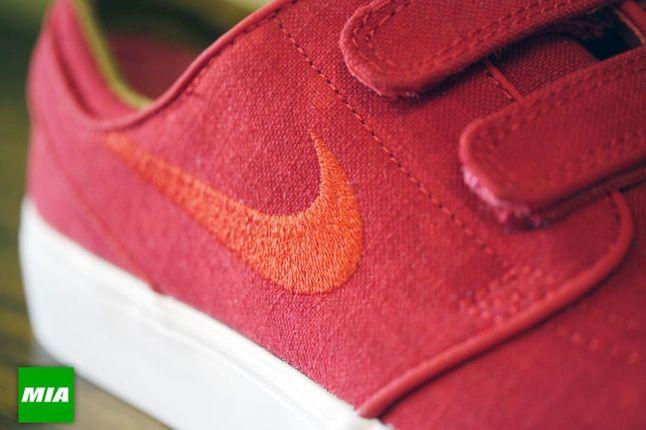 Nike Stefan Janoski Ac Rs Uni Red Midfoot Detail 1
