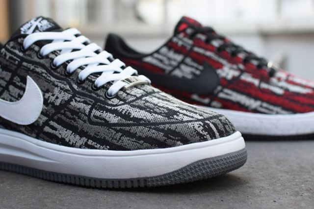 Nike Lunar Force 1 Holiday Pack Jacquard Bump 5