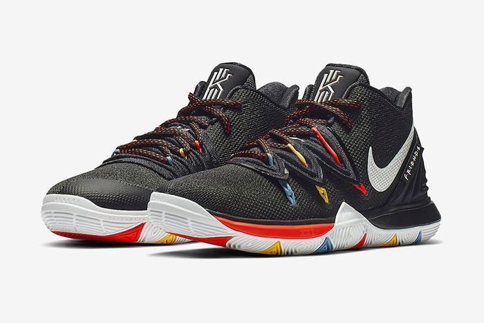 Nike Kyrie 5 Friends Aq2456 006 Release Date Pair
