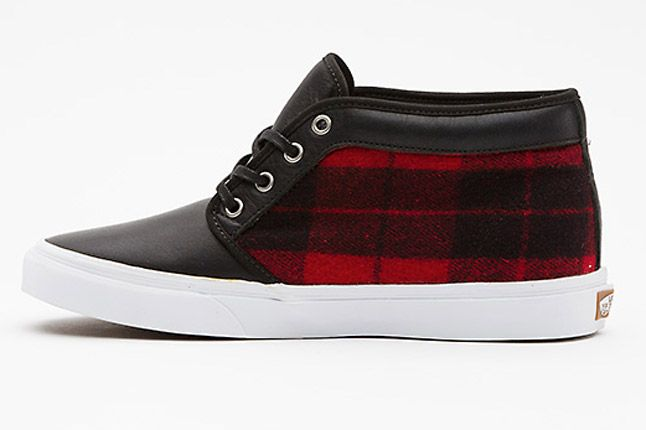 Vans Flannel Chukka Boot Ca Side 1
