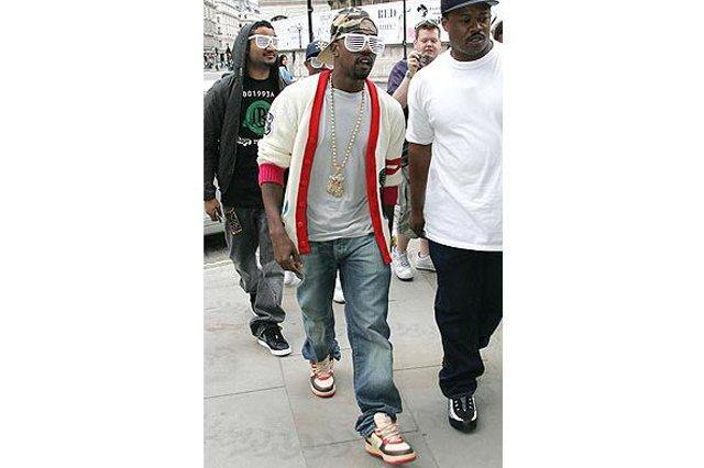 Kanye West Sneaker Style Bapesta