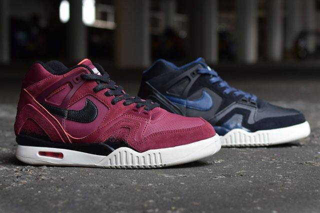 Nike Air Tech Challenge Ii Burgundy Navy Releases 8