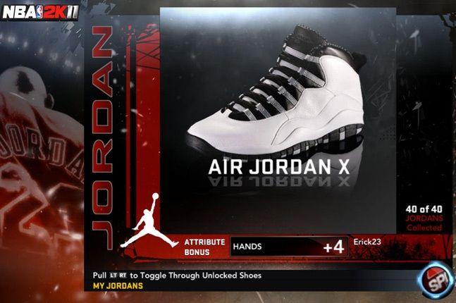 Jordan Nba 2K11 X 1