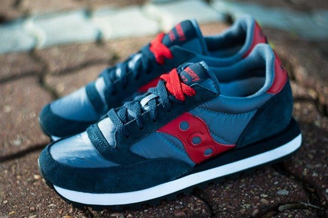 Saucony Jazz Original Navy Red Profile 1