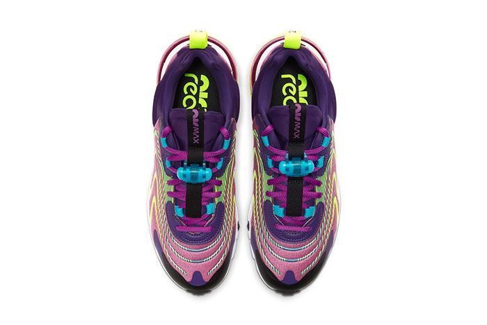Nike Air Max 270 React Eng Eggplant Ck2595 500 Top