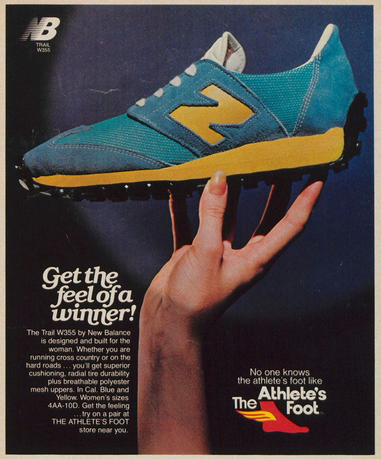 New Balance Trail 355 Vintage Ad
