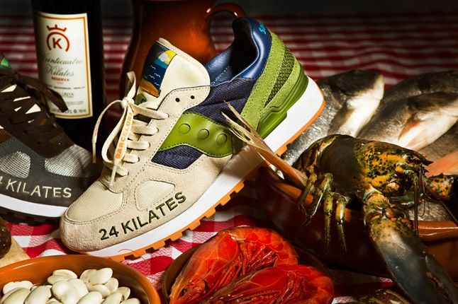24 Kilates Saucony Shadow Mar Y Montana Pack 1