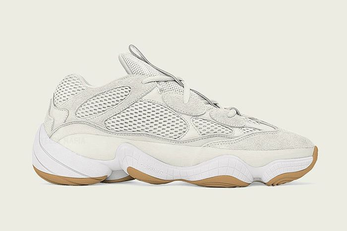 Adidas Yeezy 500 Bone White First Look Release Date Lateral