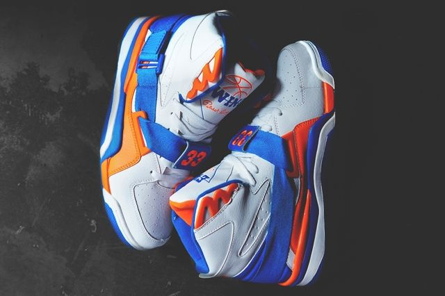 Ewing Athletics Concept Knicks White Royal Orange 3