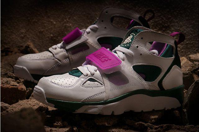 Nike Air Trainer Huarache Dark Emerald 5