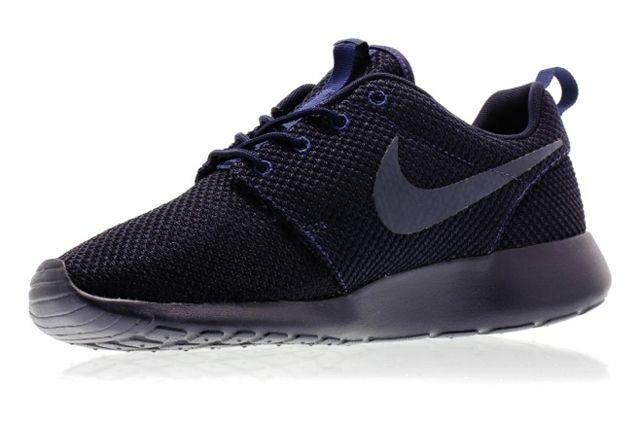 Nike Roshe Run Navy Dark Obsidian 1