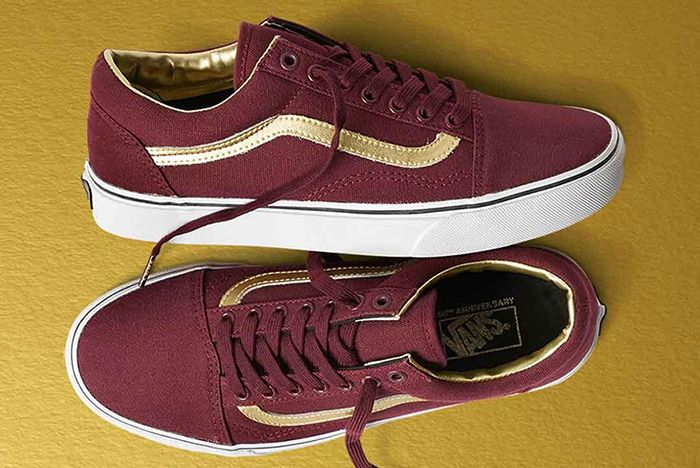 Vans 50 Th Anniversary Gold Collection2