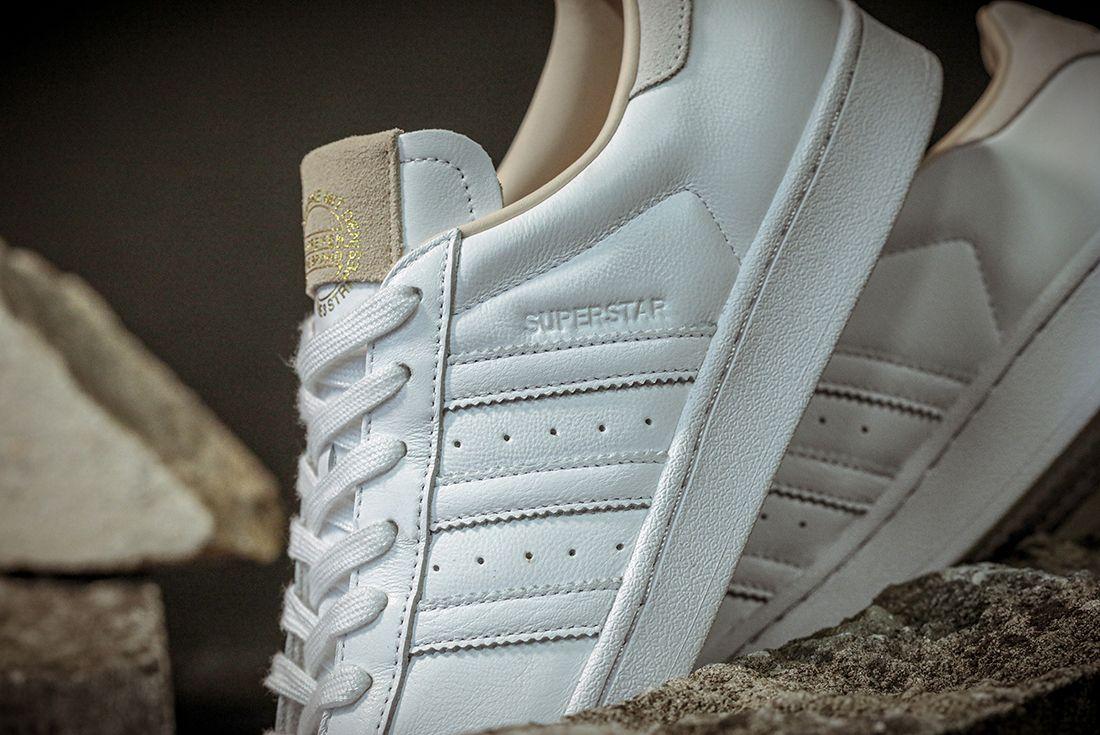 Adidas Superstar Home Of Classics Stripe Detail Angle