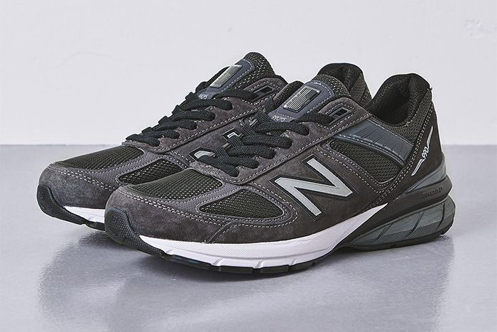 United Arrows New Balance 990V5 Grey Release Date Pair