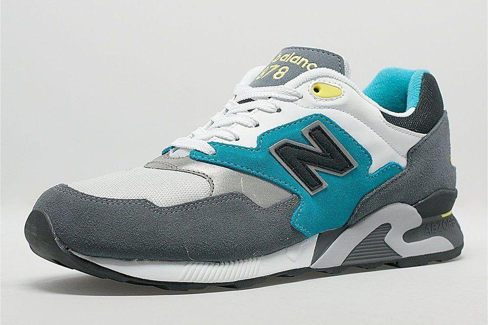 New Balance 878 Og Grey Teal Neon Size Exclusive 1