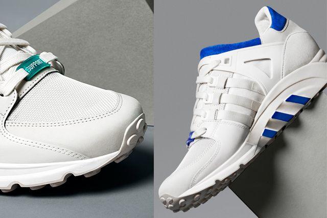 Adidas Originals Eqt Running Support White Pack