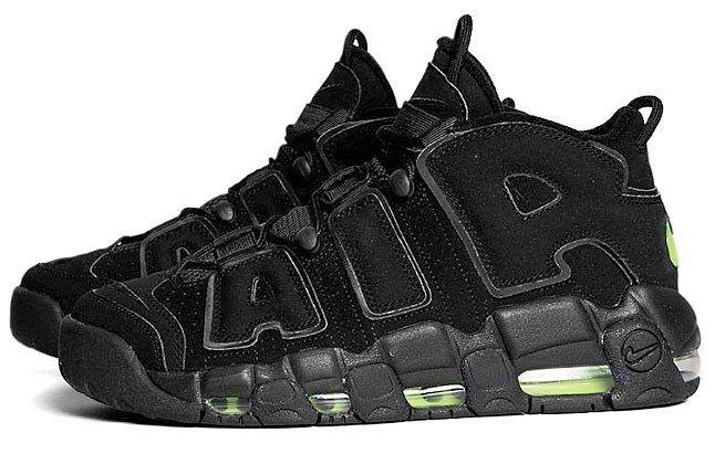 Nike More Uptempo Black 1 1