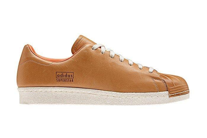 Adidas Superstar 80 S Clean Tan 1
