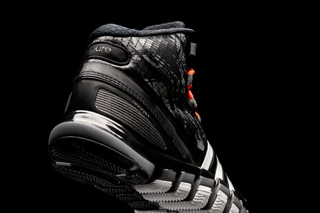 Adidas Crazyquick Black Lead Heel Profile 1