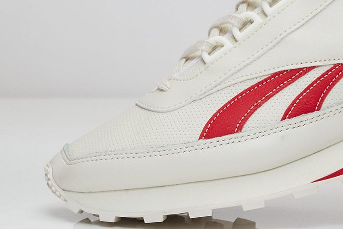 Reebok Aztec Leather White Red 4