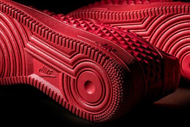 Nike Af1 Lv8 Vt Red Wish Bump 2