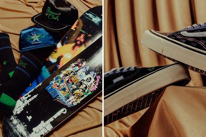 Feature Vans Old Skool Authentic Sinners Club Part Ii Release Date Hero Board Hat