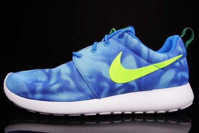 Nike Roshe Run Blue Marble