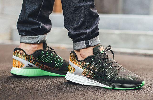 Nike Lunarglide 7 Green 3