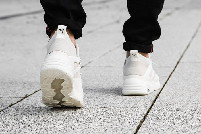 Puma Blaze Of Glory Sock Core White 2