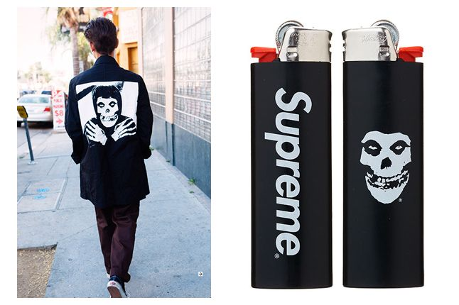 Supreme X The Misfits Collection 2013 Bic Lighter 1