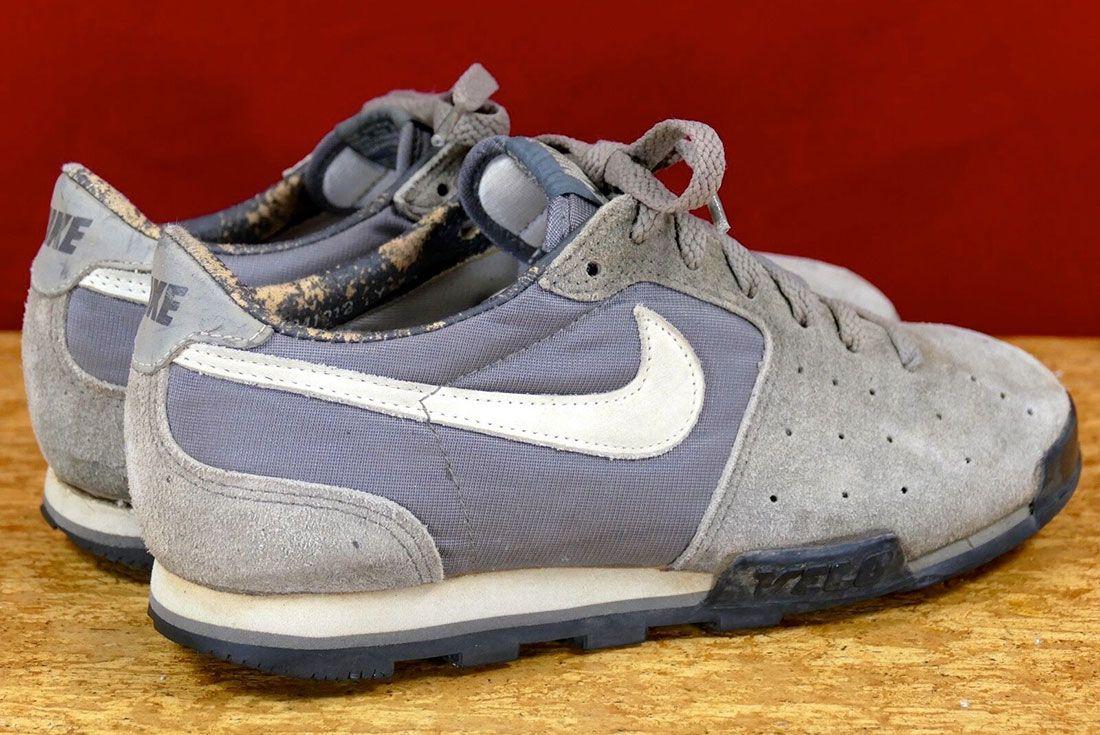 Nike Velo 1984 Grey Rear Angle