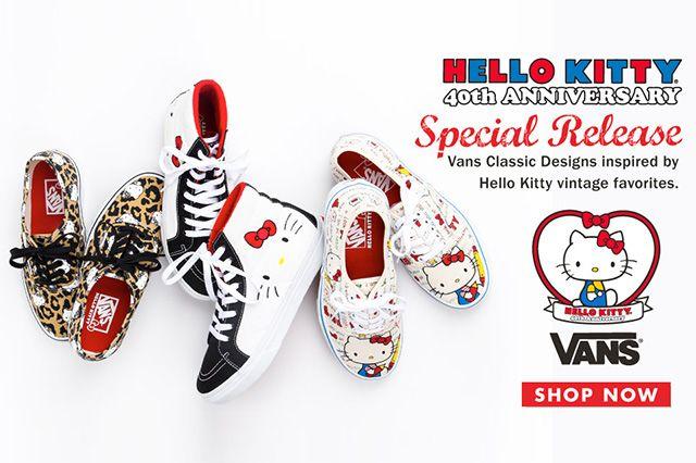Hello Kitty X Vans 2014 Summer Collection