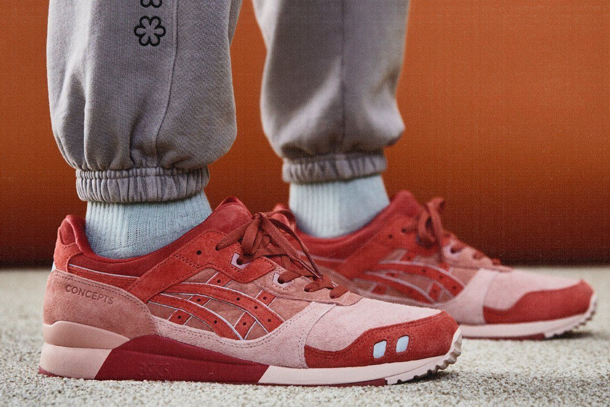 Concepts x ASICS GEL-Lyte III 'otoro' official