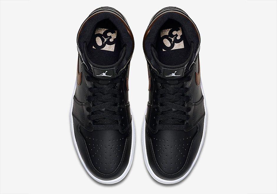 Air Jordan 1 Rare Air Black Bronze 5