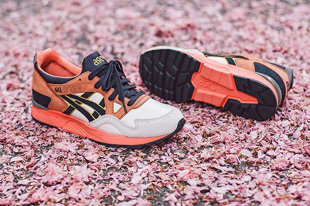 Ubiq X Asics Gel Lyte V Midnight Bloom 10